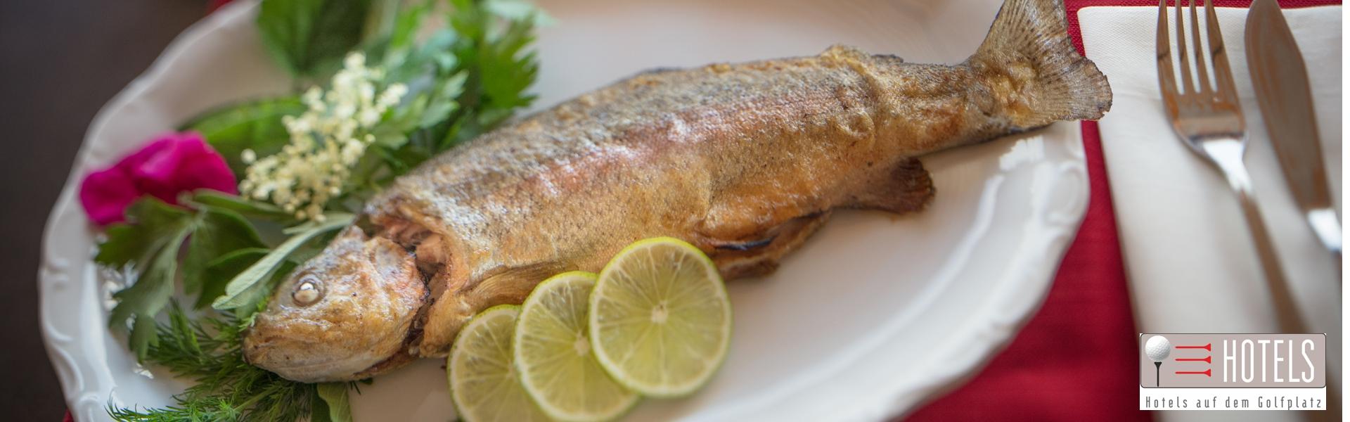 Forelle auf Teller in Leo´s Restaurant 1920x600_72