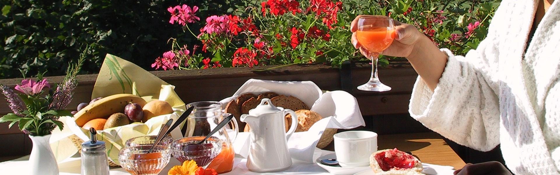 Frühstück Maria