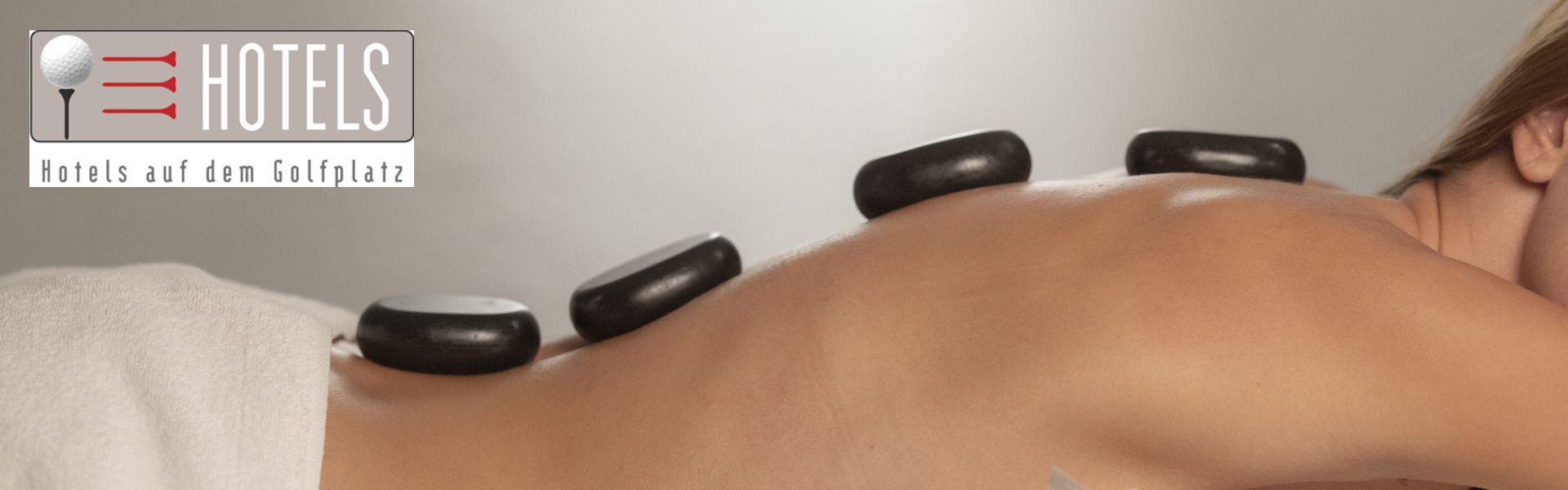 Steinmassage im Golf- und Landhotel Anetseder